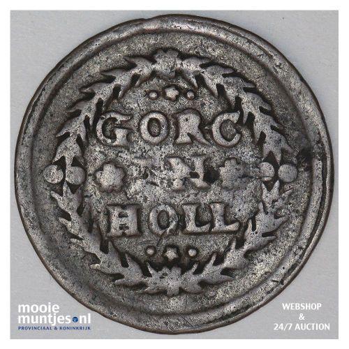 Gorinchem - Duit - z.j.(1590-1591) (kant A)