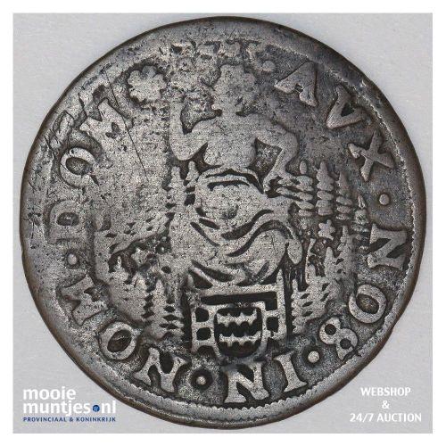 Gorinchem - Duit - z.j.(1590-1591) (kant B)