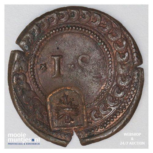 Deventer - Halve stuiver - 1578 (kant B)