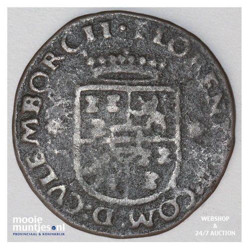 Culemborg - Oord of vier penningenstuk - 1590 (kant B)