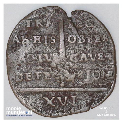 Maastricht stad - 16 stuiver - 1579 (kant B)