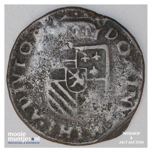 Brabant-Maastricht - Kwart stuiver of oord van 12 mijten - 1589 (kant B)
