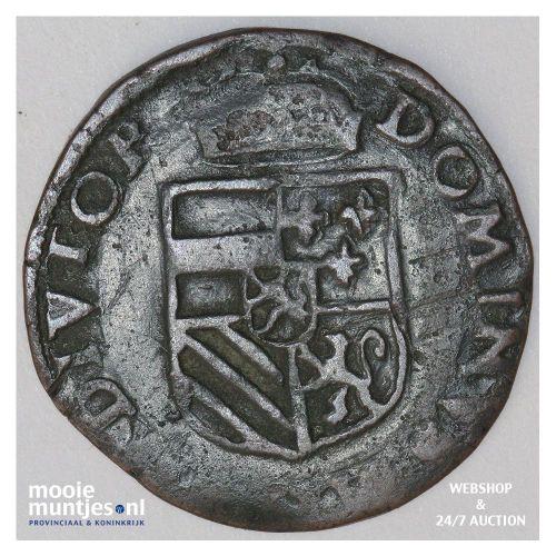 Brabant-Maastricht - Vierentwintigste stuiver of korte van 2 mijten - z.j. (1571