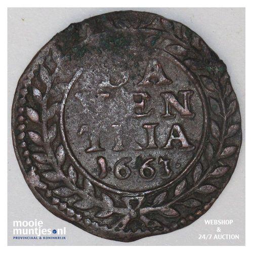 Overijssel - Duit - 1766 (kant A)