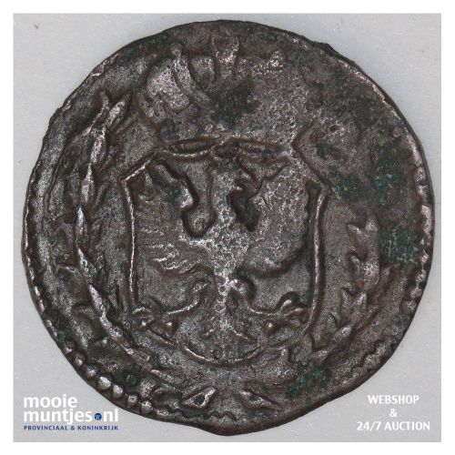 Overijssel - Duit - 1766 (kant B)