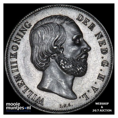1 cent - Willem III - 1870 (kant B)