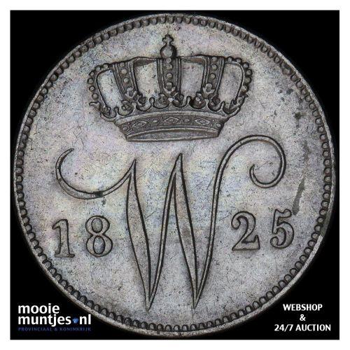 25 cent - Willem I - 1826 Utrecht (kant A)