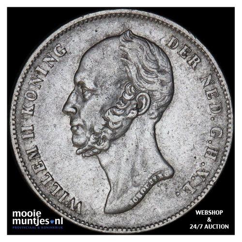 25 cent - Willem I - 1826 Utrecht (kant B)