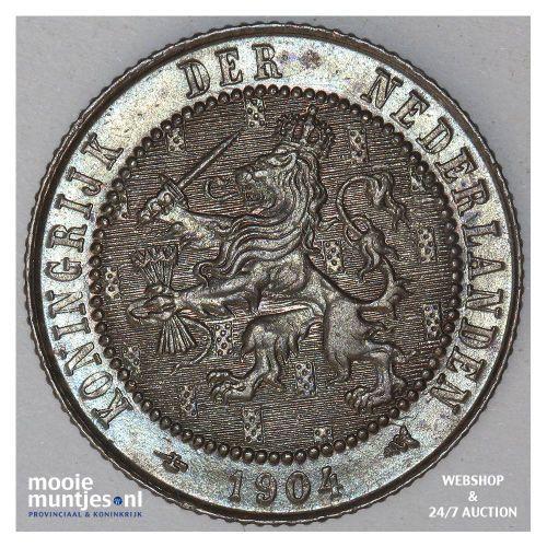 2½ cent - Wilhelmina - 1912 (kant A)