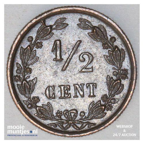 ½ cent - Wilhelmina - 1903 (kant B)
