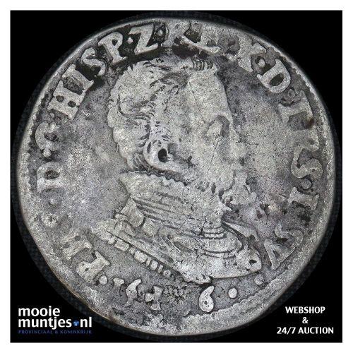Overijssel - Vijfde Philipsdaalder - 1566 (kant A)