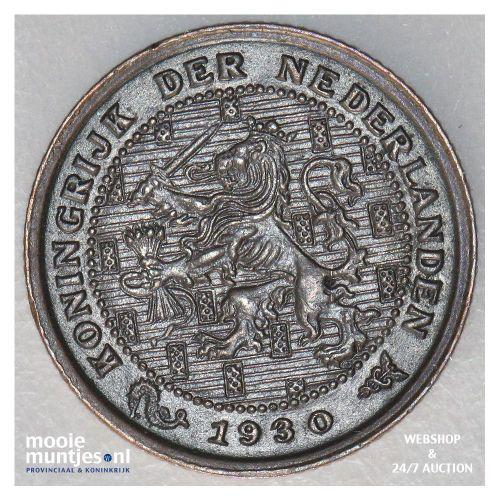 ½ cent - Wilhelmina - 1914 (kant A)