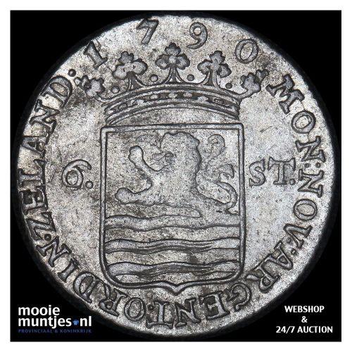 Zeeland - Scheepjesschelling - 1790 (kant A)