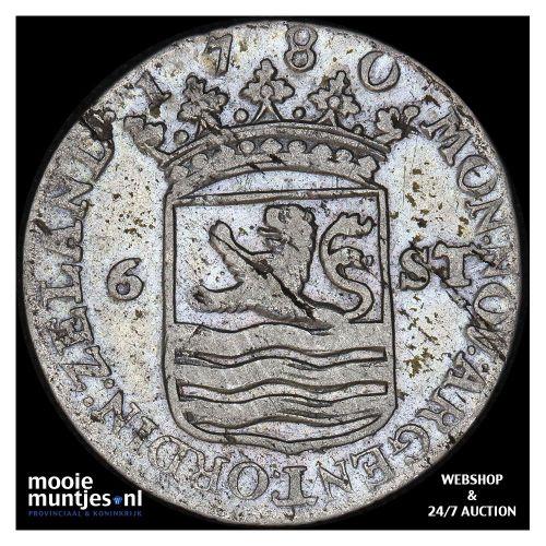 Utrecht - Kwart gulden - 1759 (kant A)