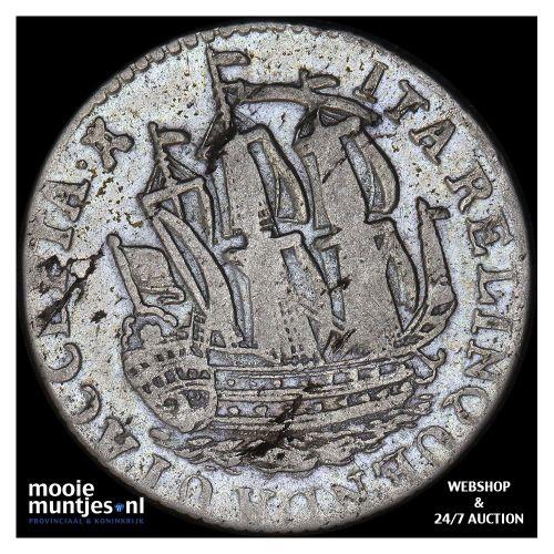 Utrecht - Kwart gulden - 1759 (kant B)