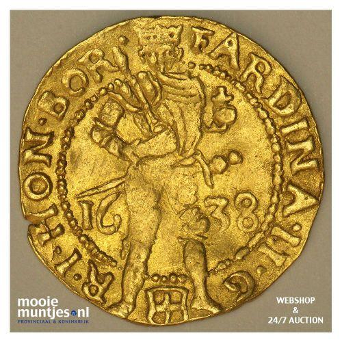 Zwolle - Gouden dukaat - 1638 (kant A)