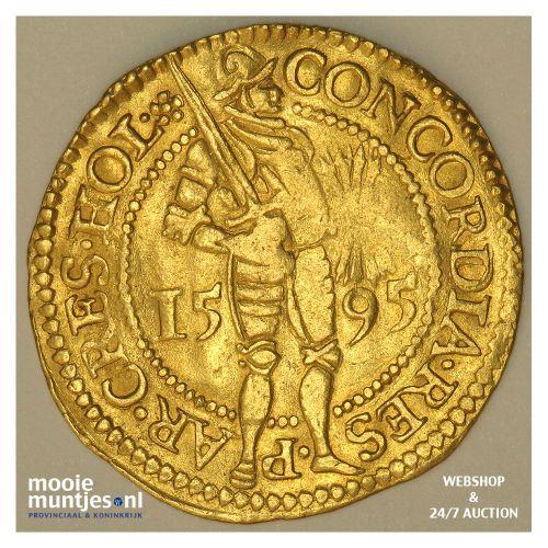 Holland - Gouden dukaat - 1595 (kant A)