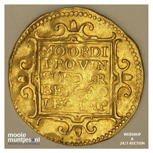 Holland - Gouden dukaat - 1595 (kant B)