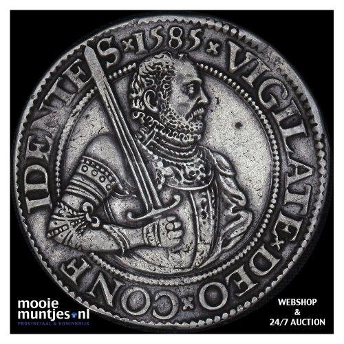 Holland - Gehelmde rijksdaalder of Prinsendaalder - 1585 (kant A)