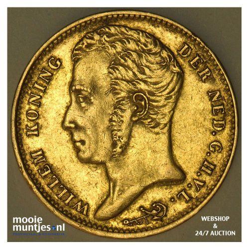 10 gulden - Willem I - 1824 Brussel (kant B)