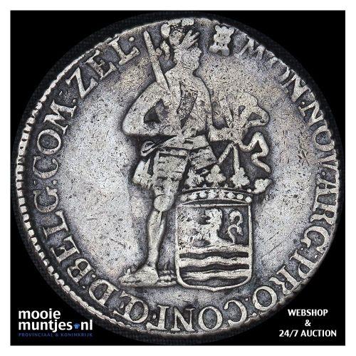 Zeeland - Zilveren dukaat - 1781 (kant B)