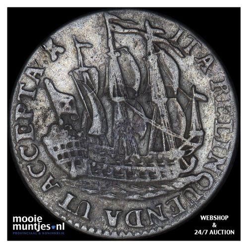 Zeeland - Scheepjesschelling - 1758 (kant B)