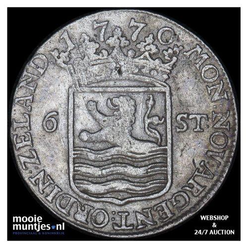 Zeeland - Scheepjesschelling - 1758 (kant A)