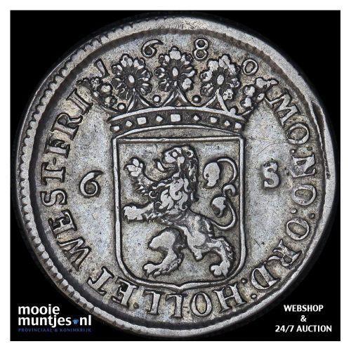Holland - Scheepjesschelling - 1680 (kant A)