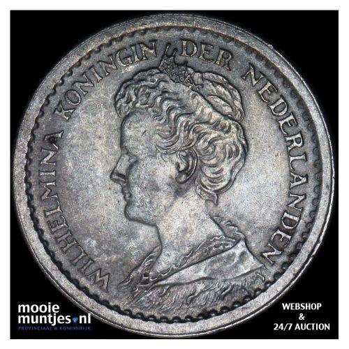 10 cent - Wilhelmina - 1892 (kant B)
