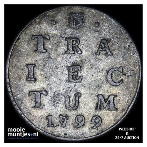 Utrecht - 2 stuiver - 1799 (kant A)