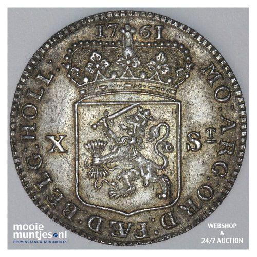 Holland - Halve gulden - 1761 (kant A)