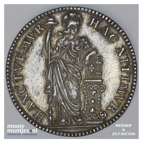 Holland - Halve gulden - 1761 (kant B)