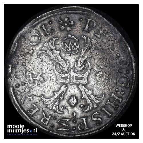 Holland - Bourgondische kruisrijksdaalder - 1568 (kant A)