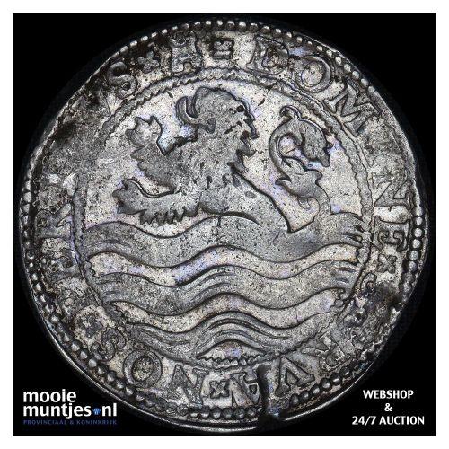 Zeeland - Leeuwendaalder - 1597 (kant B)
