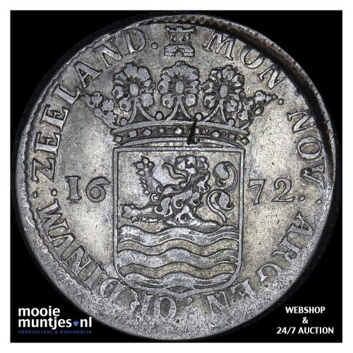 Zeeland - Hoedjesschelling - 1738 (kant A)