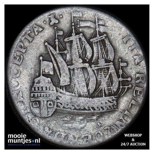 Zeeland - Scheepjesschelling - 1755 (kant B)