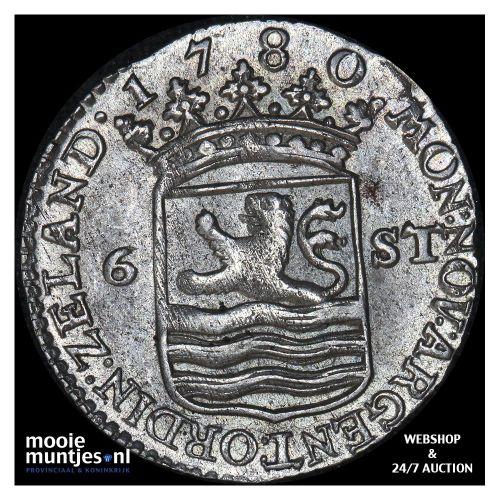 Zeeland - Scheepjesschelling - 1755 (kant A)