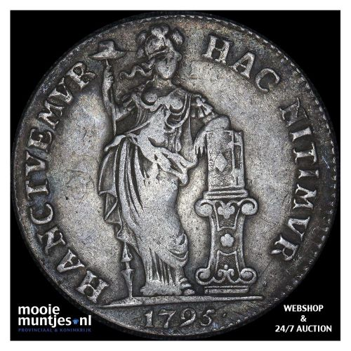 Overijssel - 1 gulden - 1795 (kant A)