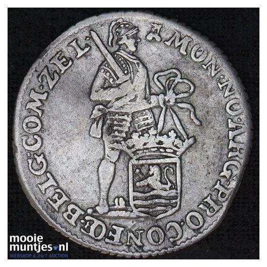Zeeland - Dubbele wapenstuiver - 1683 (kant B)