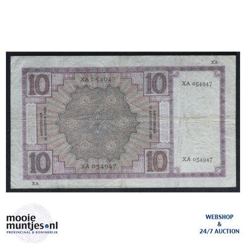 10 gulden  - 1924 (Mev. 39-3a / AV 28) (kant B)