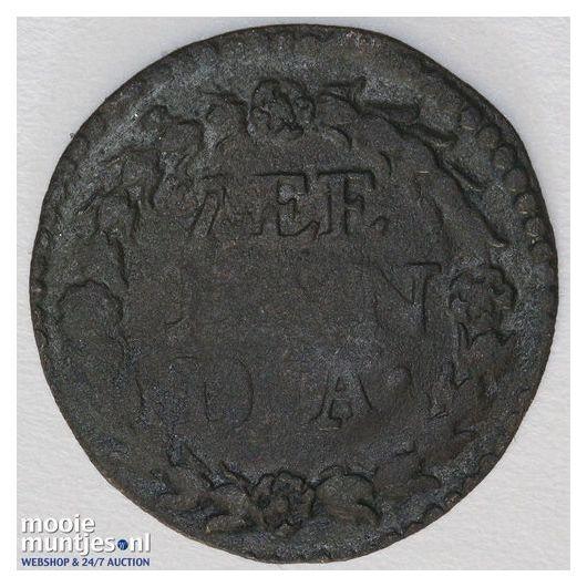 Zeeland - Duit - 1641 (kant B)