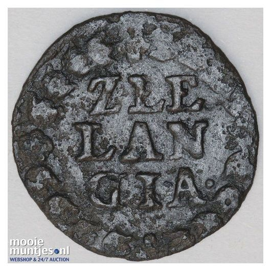 Zeeland - Duit - 1669 (kant B)