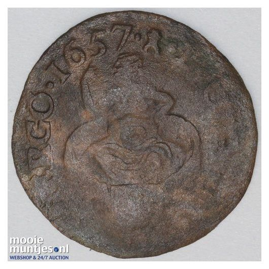 Zeeland - Duit - 1669 (kant A)