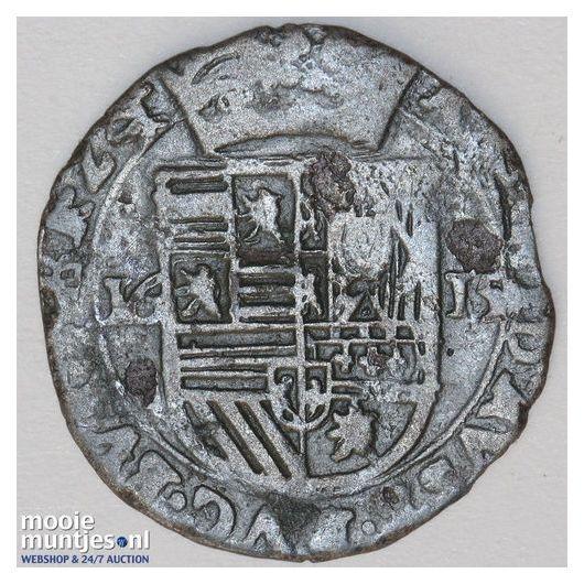 Brabant-´s-Hertogenbosch - Halve stuiver of groot van 24 mijten - 1616 (ka