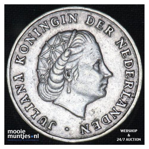 Nederlandse Antillen  - 1 gulden - 1852 (kant B)