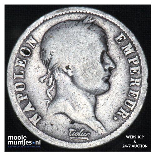 2 francs - Keizer Napoleon I - 1812 (kant B)