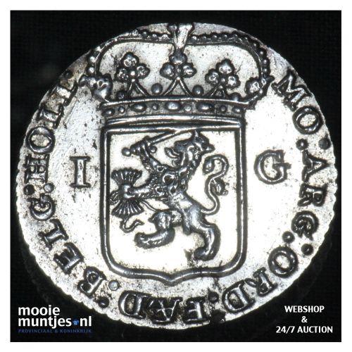 Holland - 1 gulden - 1800 (kant B)