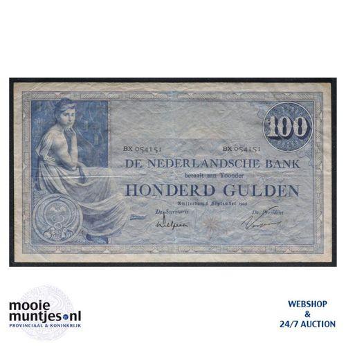 1000 gulden  - 1921 (Mev. 116-3b / AV 80) (kant A)