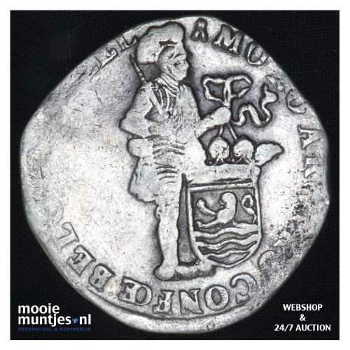 Zeeland - Zilveren dukaat - 1704 (kant B)