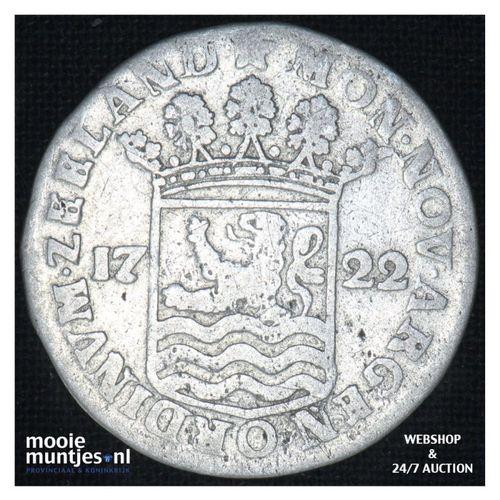 Zeeland - Hoedjesschelling - 1722 (kant A)